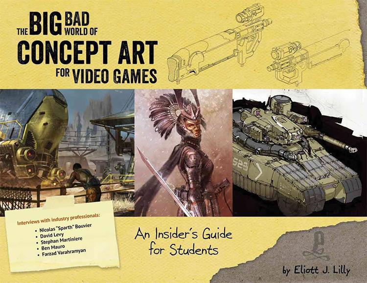 big bad world concept art book