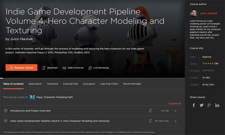premium course example page