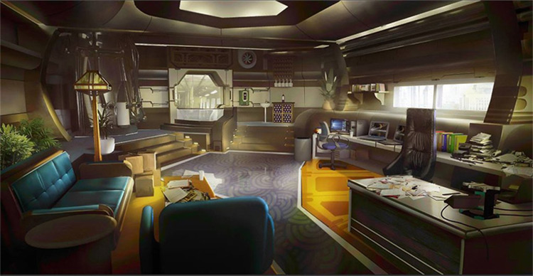 tyler edlin interior concept art