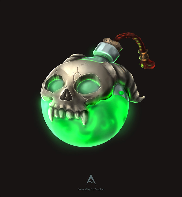 green death potion