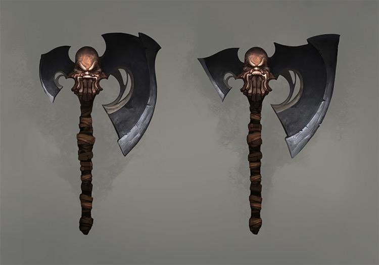 dark sage magician axes