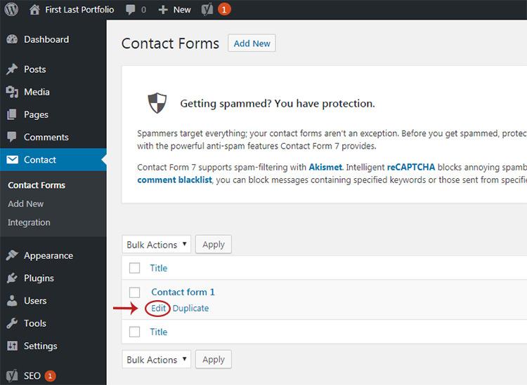 hover-to-click admin link menu