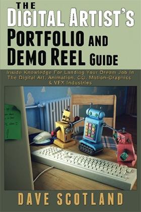 digital artist portfolio book