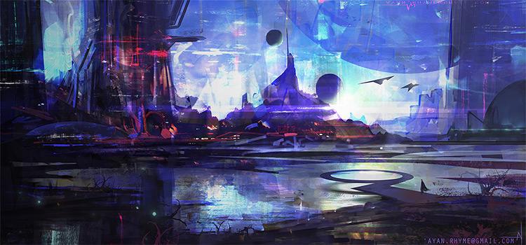 lightworks cityscape environment