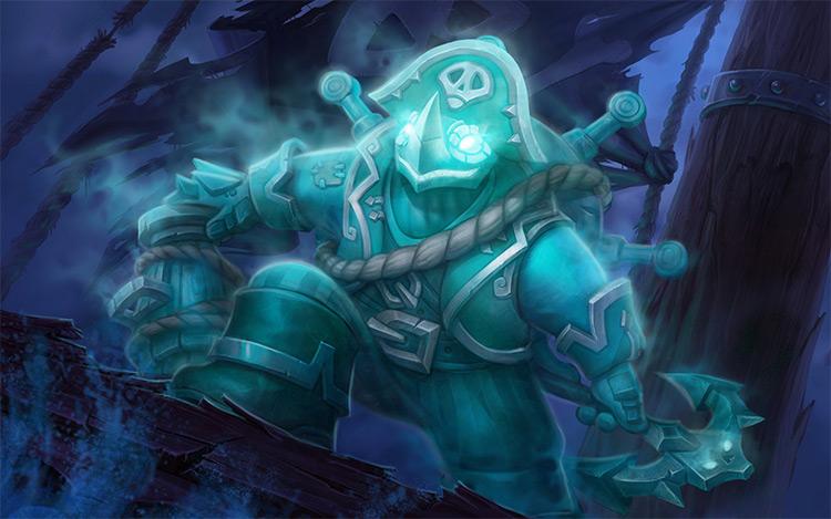 Ghost pirate concept art design