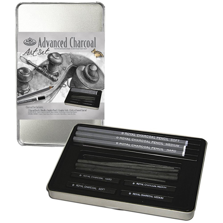 Royal Langnickel charcoal pencils