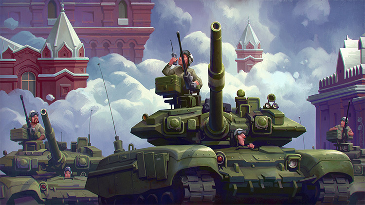 environments war in russia tanks