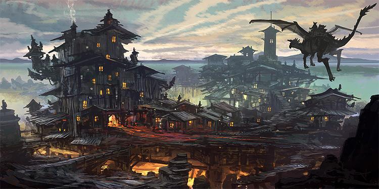 fzd feng zhu concept environment