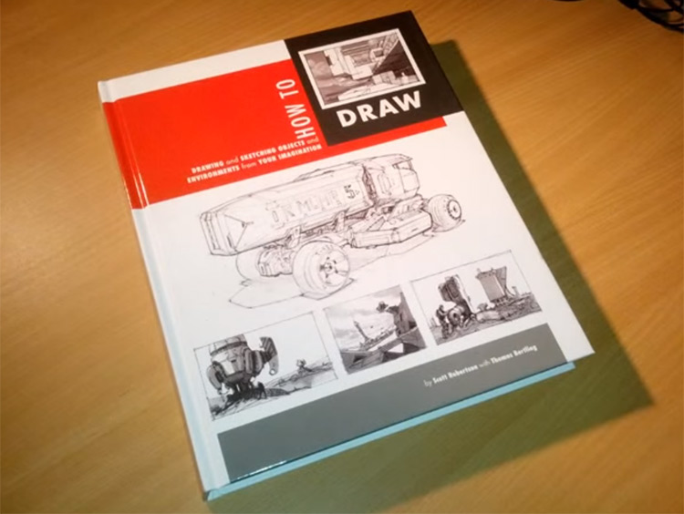 scott robertson how to draw book front