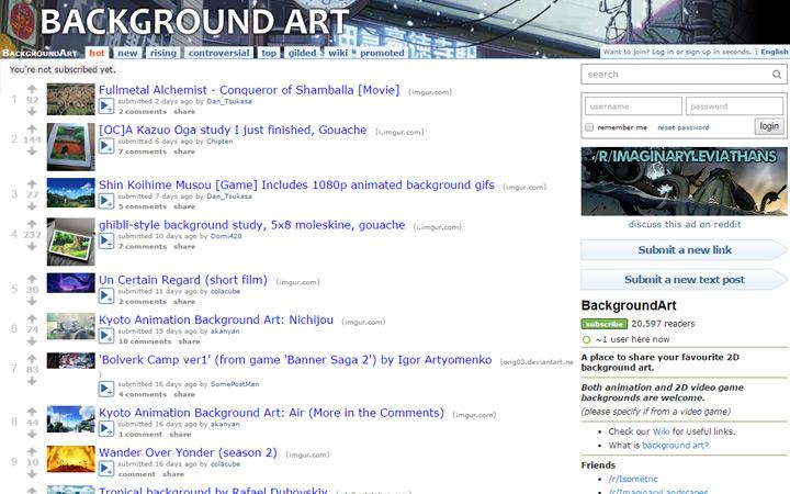background art animation subreddit