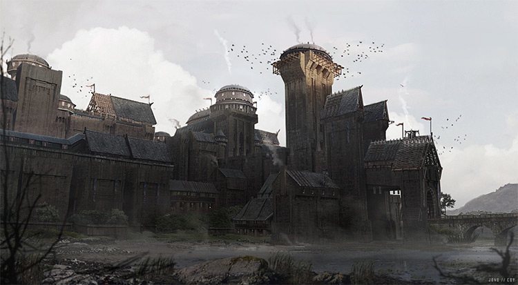 game of thrones castle concept