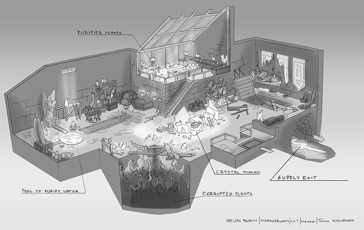interior concept house of paladin