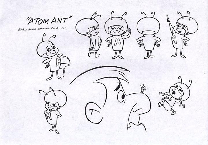 atom ant model sheet