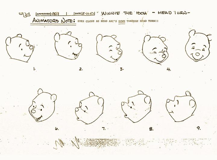 winnie pooh head models