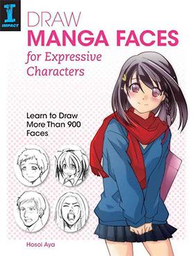 draw manga faces