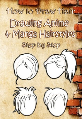 howto draw hair