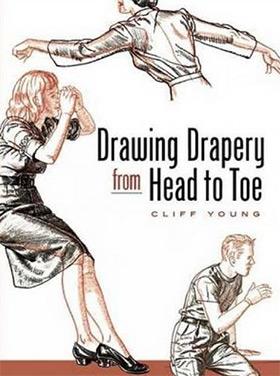 drawing drapery head to toe