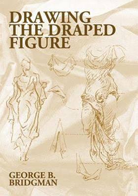 drawing draped figure