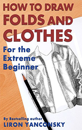 draw folds and clothes