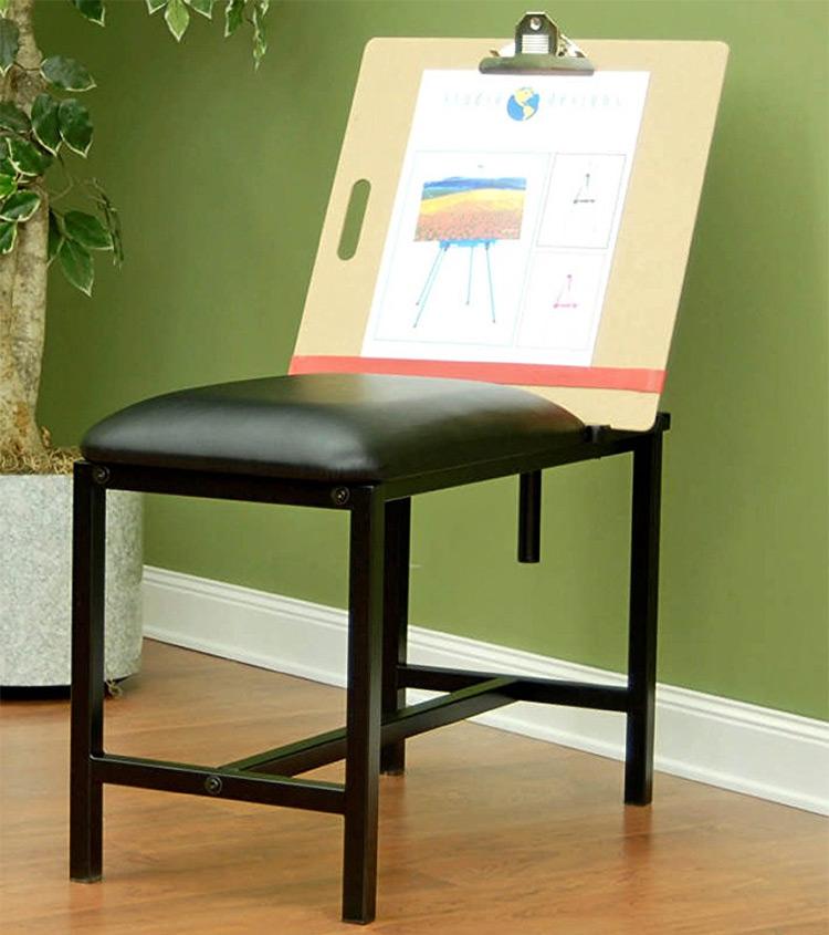 padded art bench