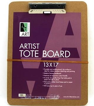 artist tote sketchboard