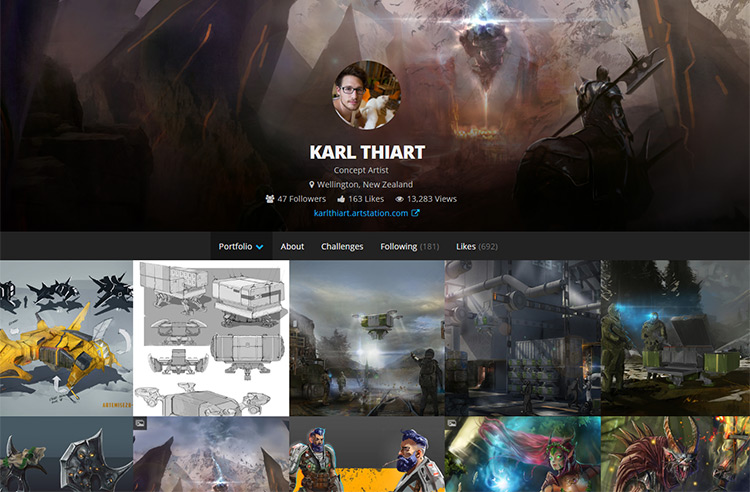 karl thiart website