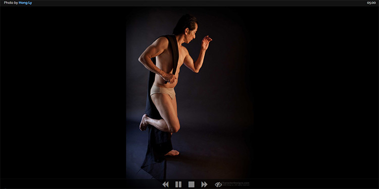 Line of action photo pose website