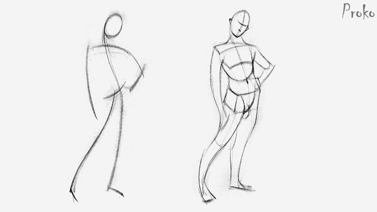 Proko gesture drawing examples