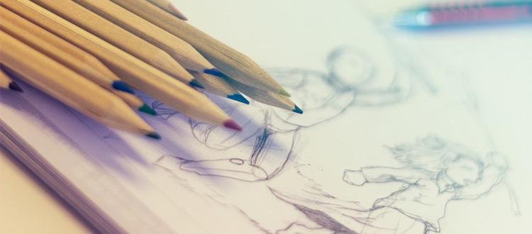 colored pencil sketches