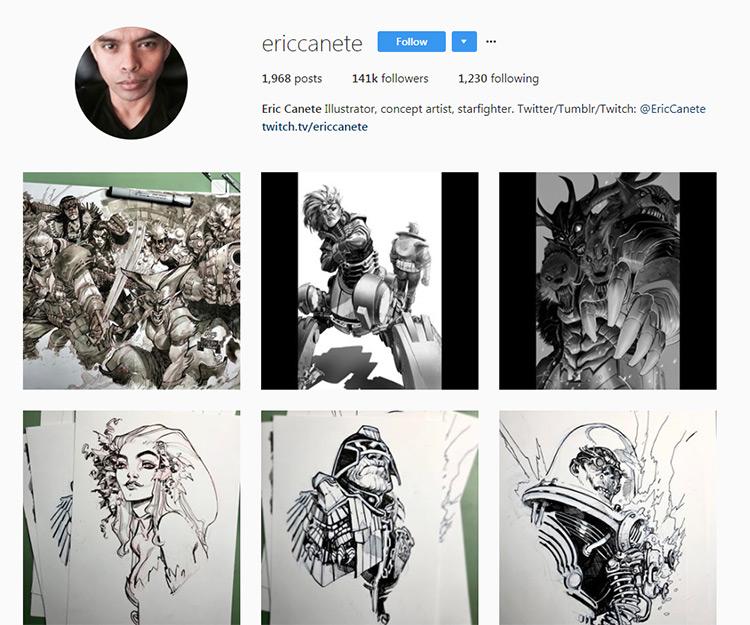 Eric Canete Instagram