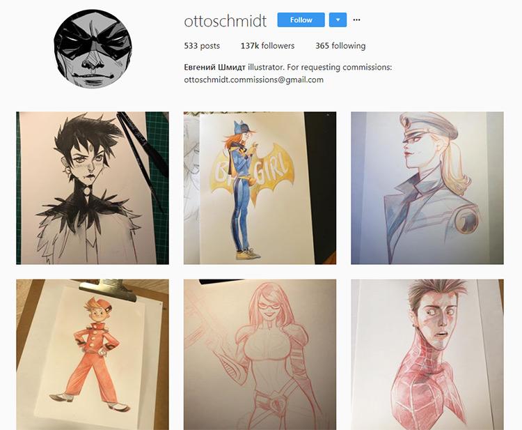 Otto Schmidt Instagram