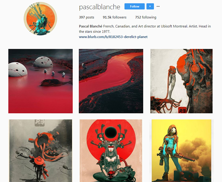 Pascal Blanche Instagram