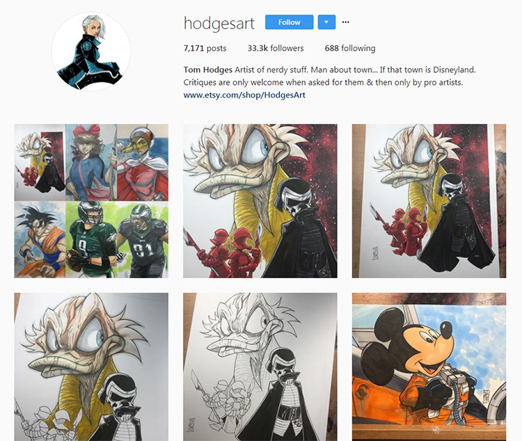 Tom Hodges Instagram