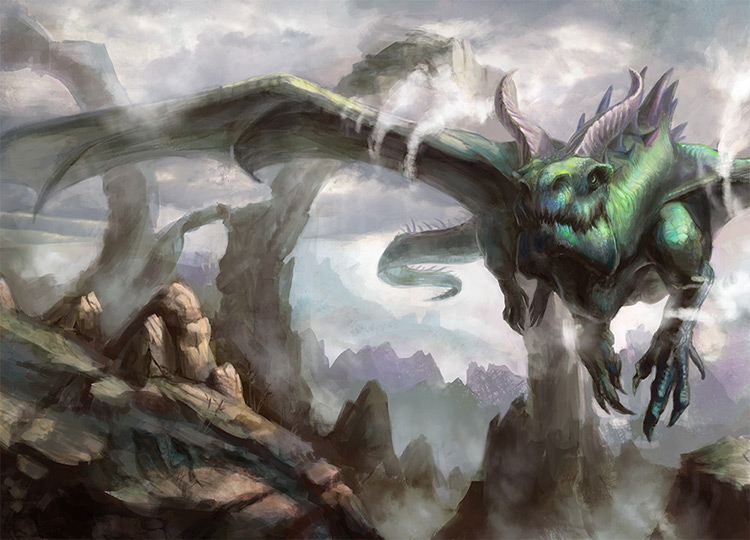 dragon flight rocks book cover art