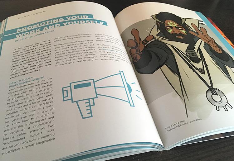 Concept Art Career Guide book