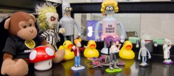Desk Toy Decorating Ideas