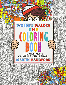 Wheres Waldo Coloring Book