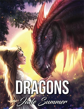 Dragons Adult Coloringbook
