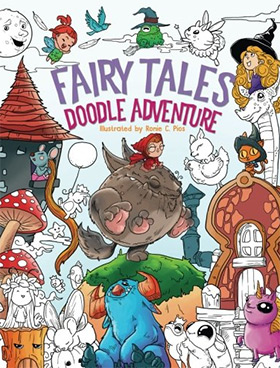 Fairy Tales Adult Coloringbook