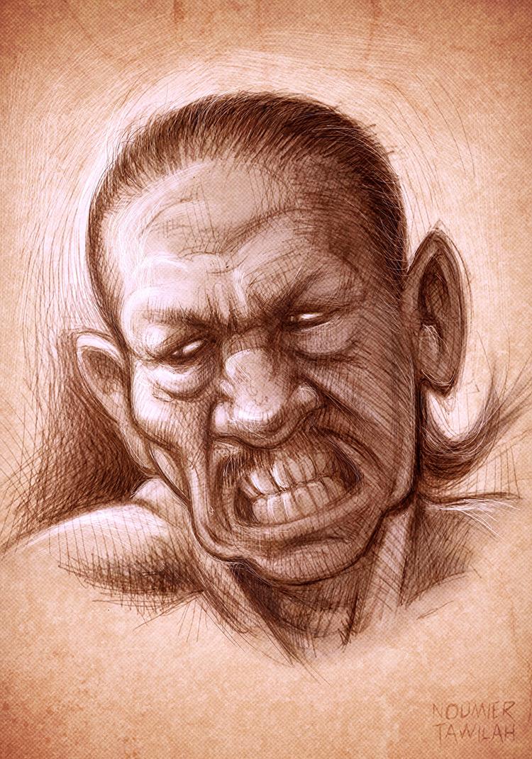 danny trejo character sketch