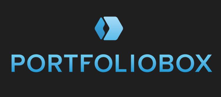 Portfoliobox logo dark