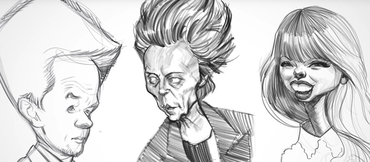 caricatures by court jones