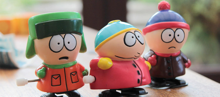 South Park wind-up toys