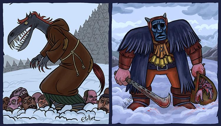Monsters of Scandinavia
