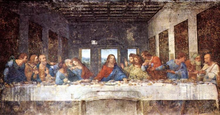 DaVinci Last Supper painting
