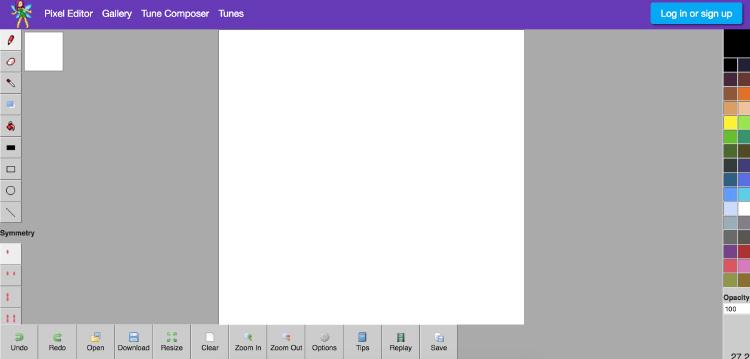 Pixie Engine Editor software