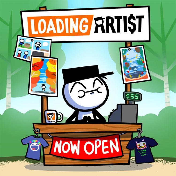 Loading Artist Store