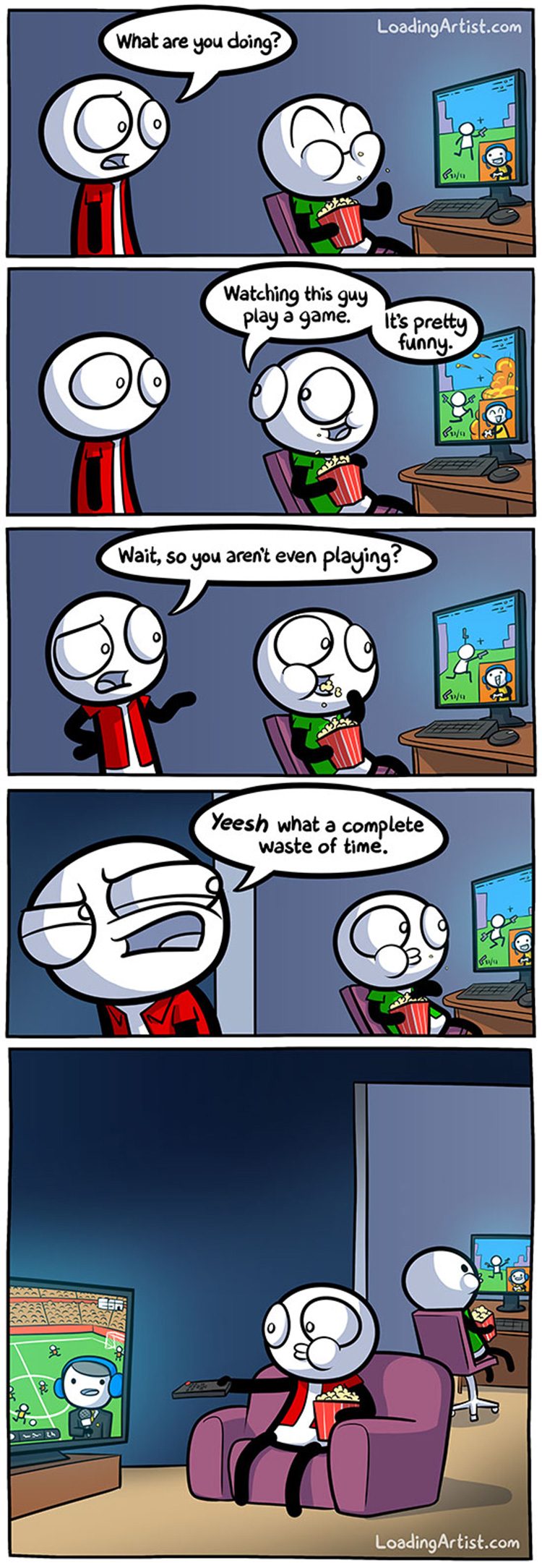 Waste of Time by Loading Artist