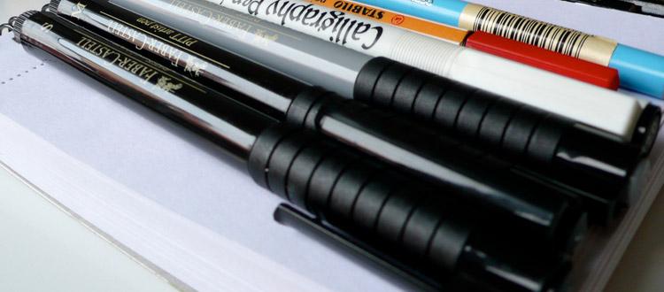 pen sketching