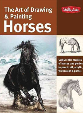 art of drawing painting horses